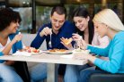 Less salt at lunch does not trigger consumers to compensate