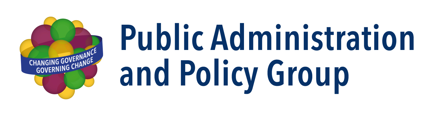 Logo Public Administration and Policy Group