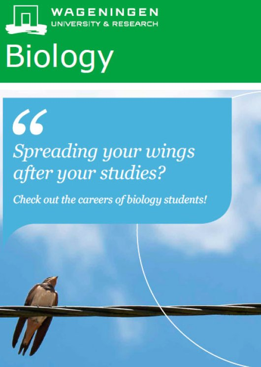 Career Booklet Biology