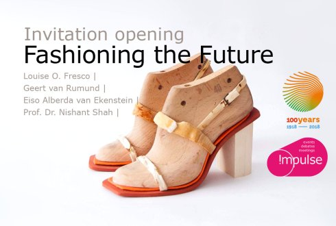 Opening exhibition Fashioning the Future: Innovation textile value chains