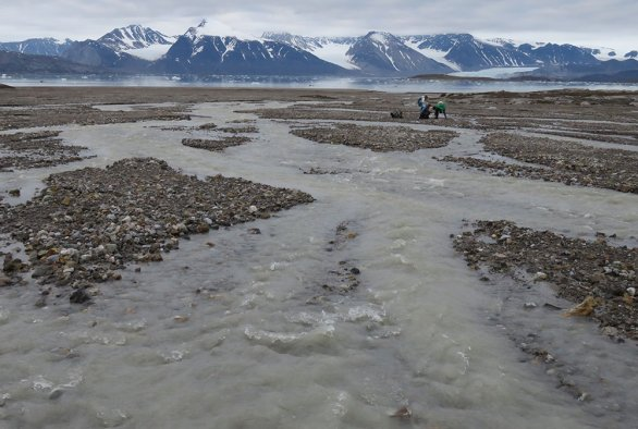 Estimating input of Hg and PAH levels from historical local sources and long range transport into the coastal marine system of Kongsfjorden, Svalbard