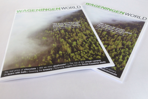 Read all about refining Lignin in the latest edition of Wageningen World