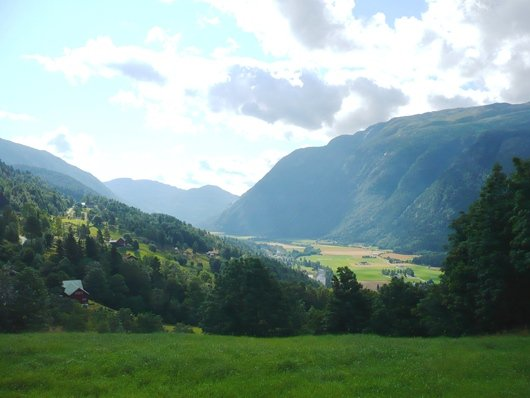 Flatdal in Telemark where many ecosystem services can be found (photo: Matthias Schröter)