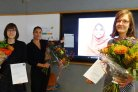Three WU women PhD candidates awarded by Storm-van der Chijs Fund at Gender-SMART afternoon.