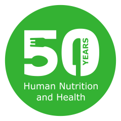 50th anniversary human nutrition and health