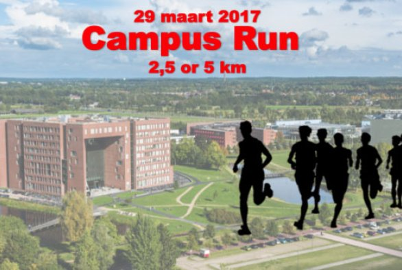De Campus Run 2,5 en 5km