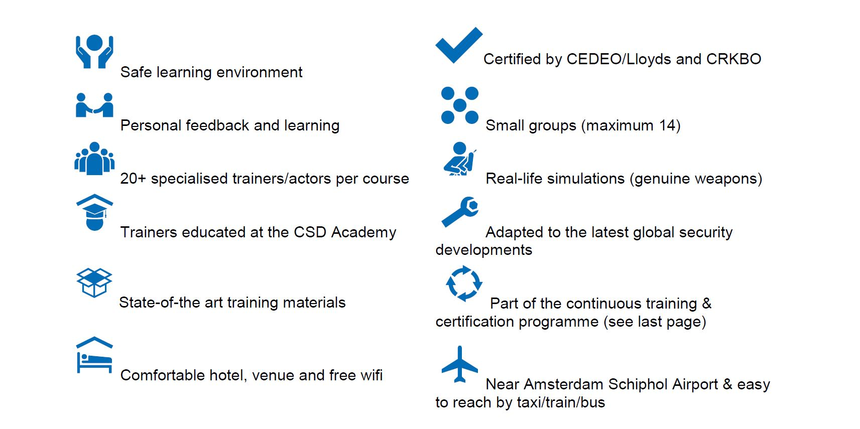Course Basic Safety Security Wur Data Training Courses