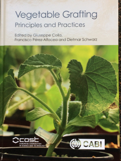 Book cover: Vegetable Grafting: Principles and Practices