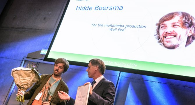 Wageningen Press Prize for science journalist Hidde Boersma and colleagues