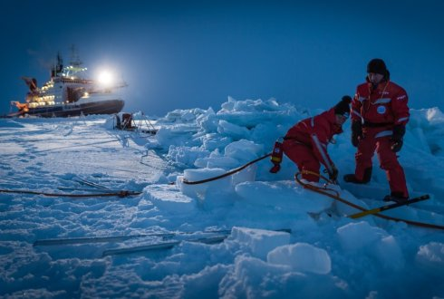 The MOSAiC expedition enters leg 2: Hardships and challenges in the Arctic winter