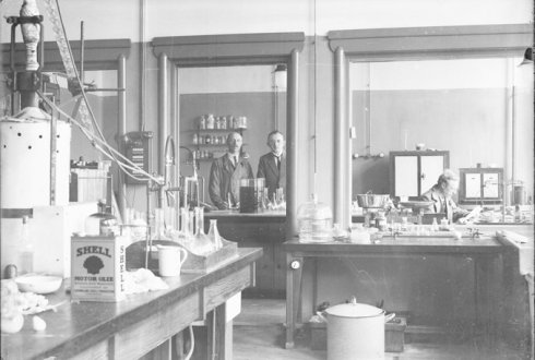 Historical highlights of the Laboratory of Microbiology; celebrating 100 years