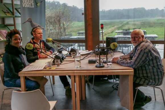 Jan Andries van Franeker on Dutch radio about the biggest marine protected area: Ross Sea