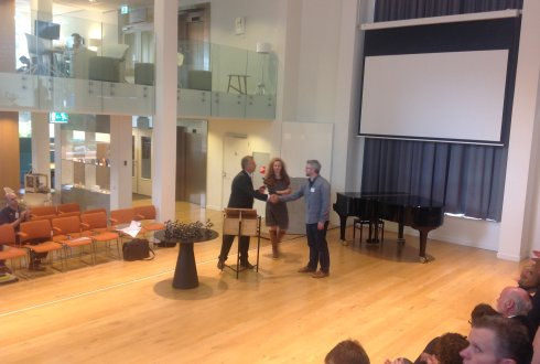 Michael Marchman receives teaching award for top 30 course at Wageningen University