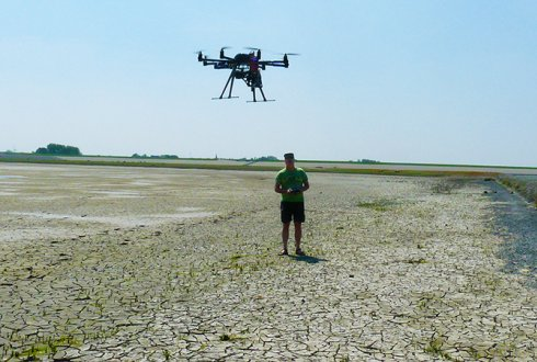 Drone mapping of mussel beds