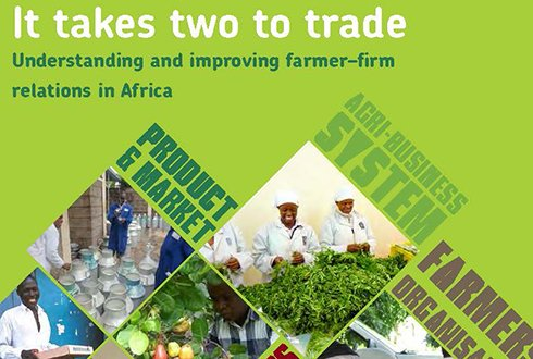 Tool for improving farmer-firm relations launched