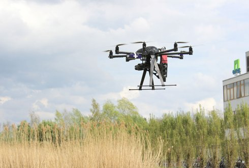 Drone reveals hidden plant-soil history effects on crops