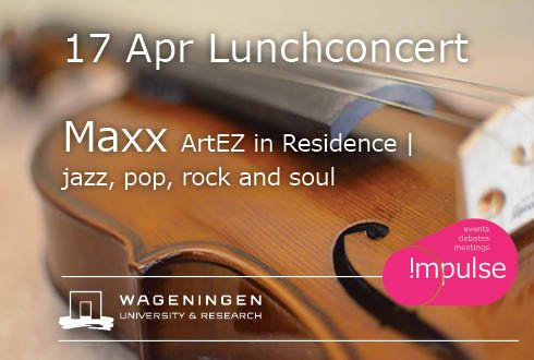 Lunchconcert: MAXX - ArtEZ in residence