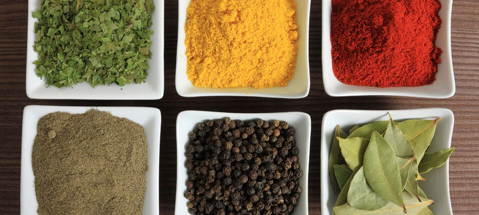 spices, Food technology