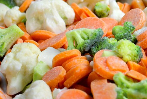 Less food waste when using frozen produce