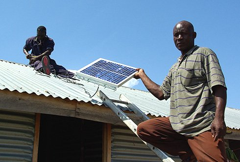 Solarmal: Solar power for malaria eradication