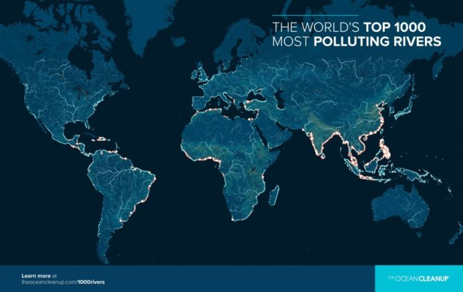 World Emissions Map
