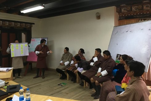 Training of Trainers on Agri-business and Entrepreneurship Development for enhanced food security in Bhutan