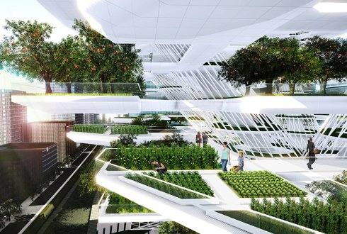 Could you design the ultimate urban greenhouse?