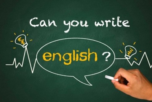 English writing course