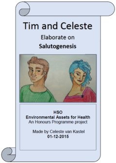 Tim and Celeste Elaborate on Salutogenesis, click to see the full comicbook