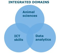 Domains of our integrated and applied scientific research
