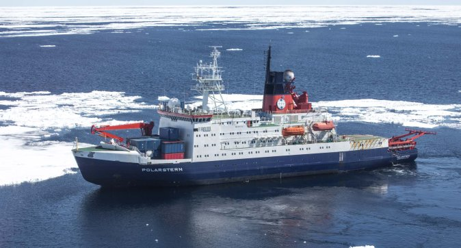 Research during Polarstern expediton important in climate studies