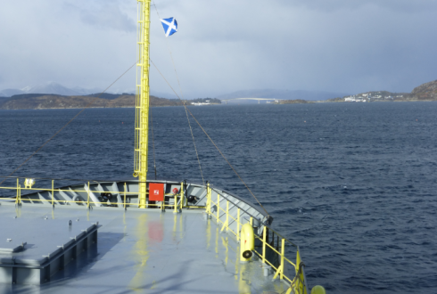 Blog: Crew Blue Whiting Survey explores the Isle of Lewis in Scotland