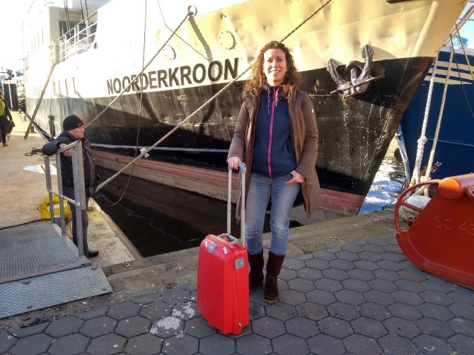 Getting on board the Noordekroon for a 2 days FisHack