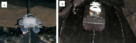 Direct attachment methods of tracking devices on turtles.
