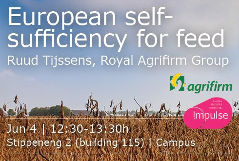 Lunchpresentation: European self-sufficiency for feed