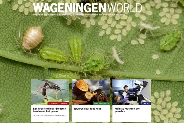 Wageningen World Magazine no 2 2018