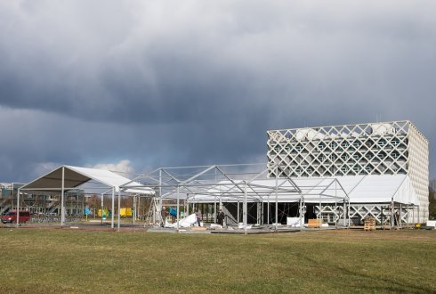 Wisdom & Wonder Pavilion for 100 years of WUR