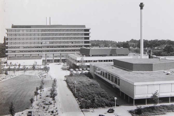 Completion of Biotechnion on de Dreijen, 1981