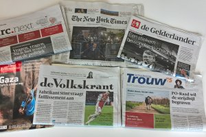 Dutch and international newspapers in Forum Library