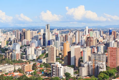 Possibilities to work with the city of Curitiba, Brazil