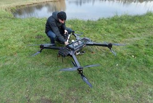 Unmanned Aerial Vehicle for Laser Scanning (LiDAR UAV) - WUR