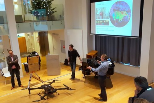 Report of the seminar Drones for research – observing the world in 3D from a Lidar-UAV