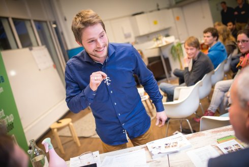 'Dutch Coral' wint finale Startup Week Wageningen