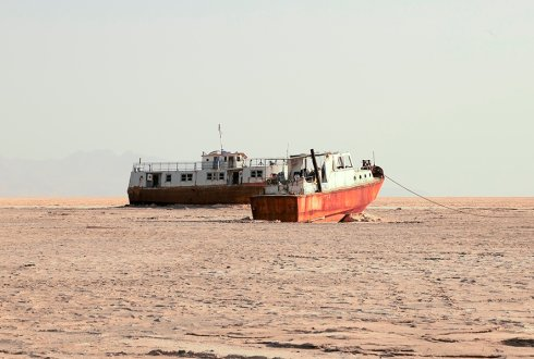 Climate change threatens already volatile Urmia Lake
