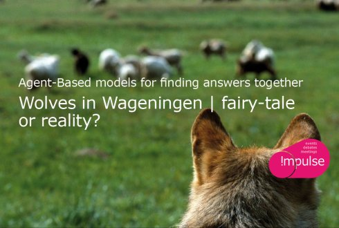 Agent-Based models for finding answers together; Wolves in Wageningen: fairy-tale or reality?