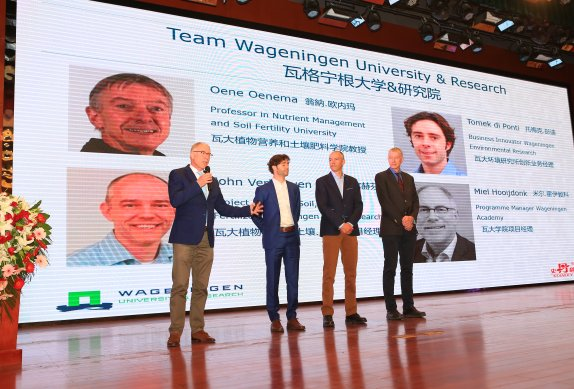 One Wageningen helps Stanley Agriculture Group in China