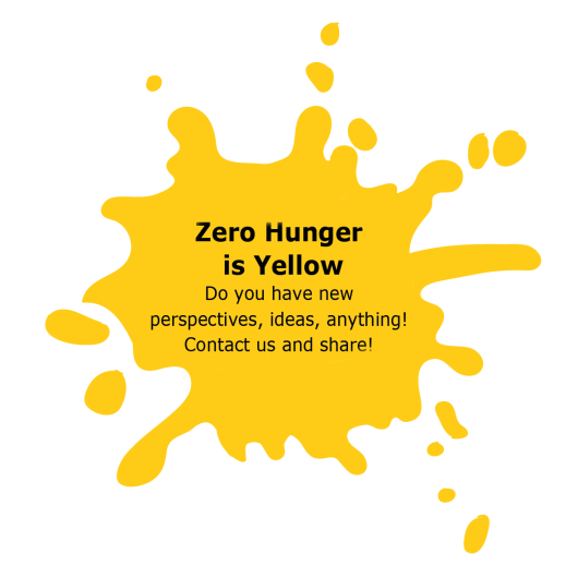 Zero hunger is Yellow