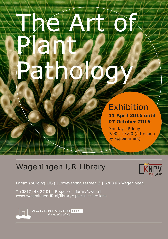 e09098815c781 Exhibition: The Art of Plant Pathology - WUR