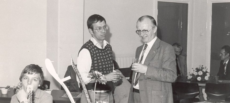 Jan Verhaaf (L) and Piet Loof (R)