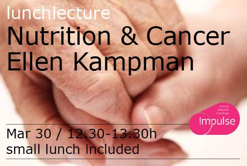 Lunch lecture: Nutrition & Cancer by Ellen Kampman